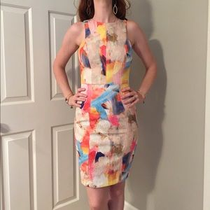 Multi Colored Tank Dress by H&M
